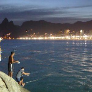 Ipanema Beach Rio de Janeiro, Brasil.   11 March 2014
