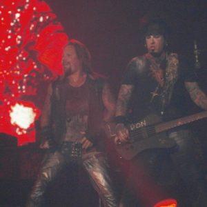 Vince Neil and Nikki Sixx
