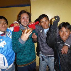 Tinku Festival in Macha, Bolivia