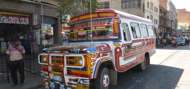 Cochabamba to La Paz: Living on Buses