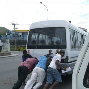 PNG city bus.