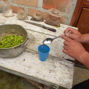Inside of a Cocaine Lab – San Agustín, Colombia