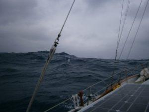 The seas.