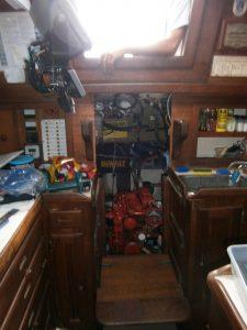Freestyles engine room.