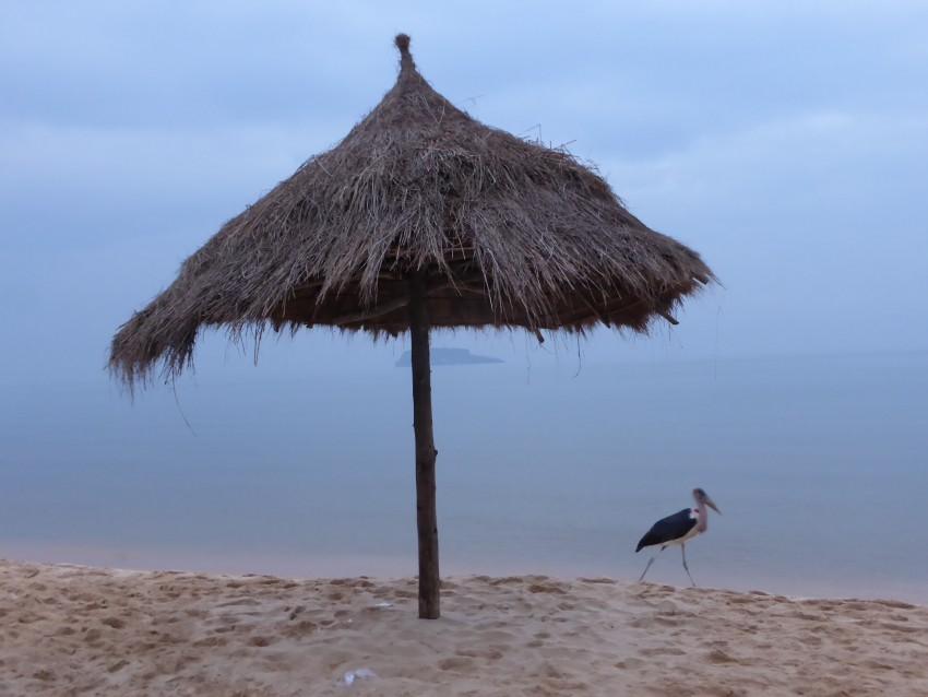 Lake Victoria beach at Bukoba.