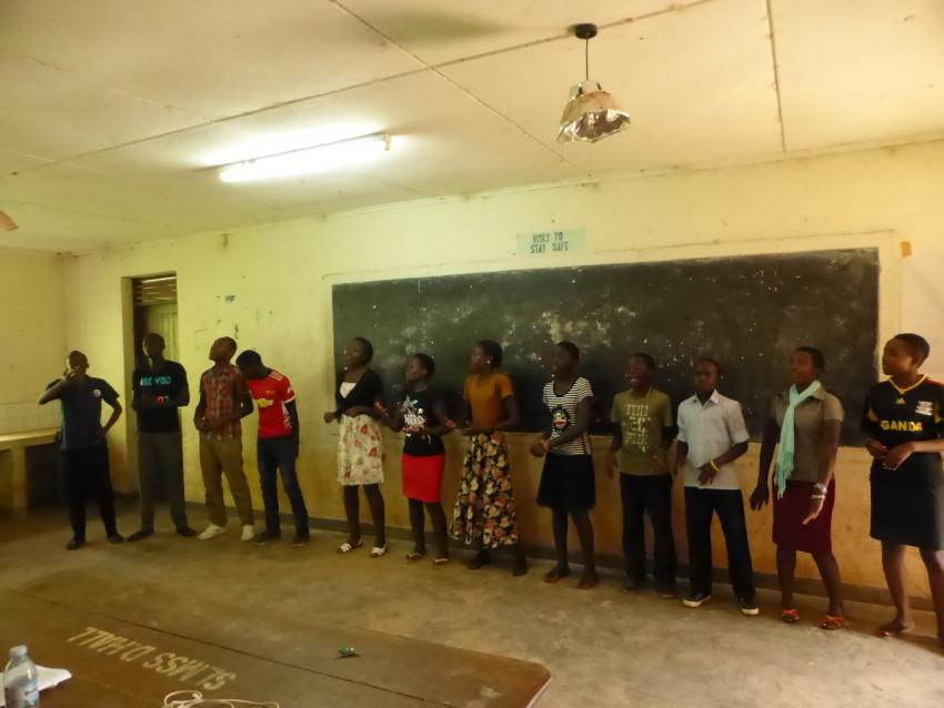 ALFFA performing arts choir.