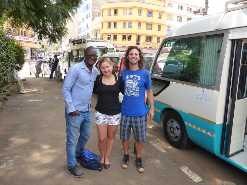 Steve, Ulrika and I.