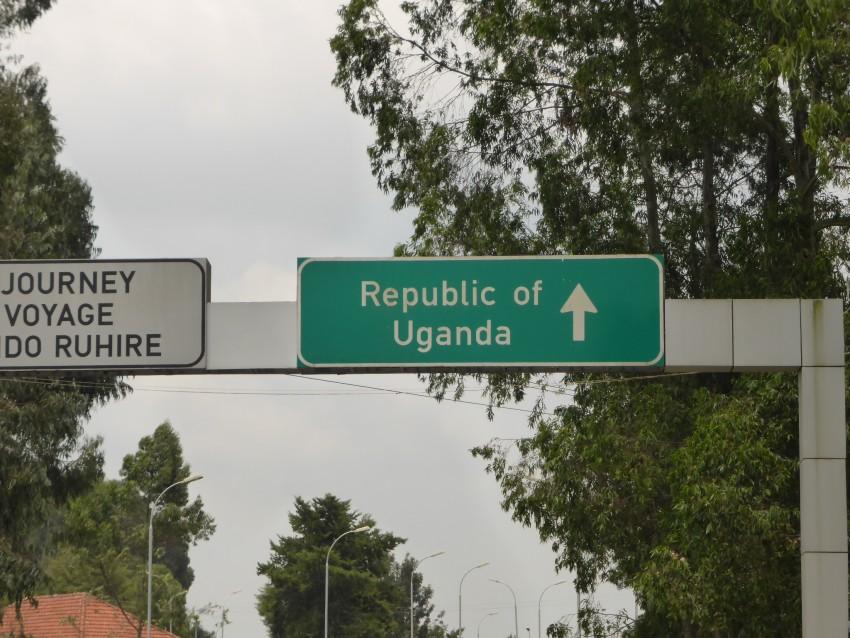 Leaving Rwanda.