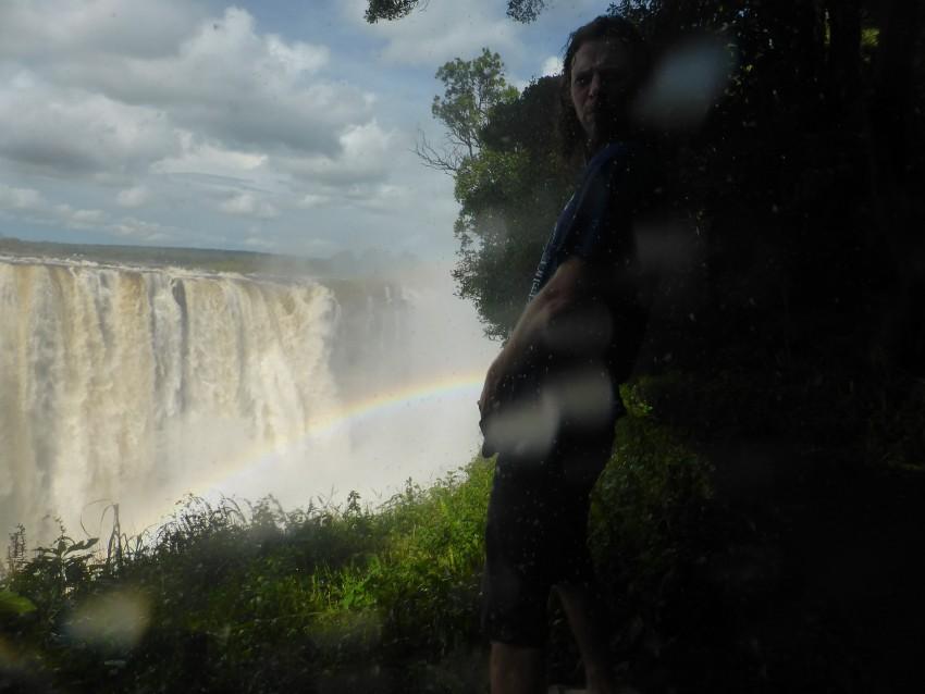 Yea, I pee rainbows into the Victoria Falls.