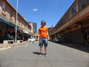 Johannesburg in front of Kwa Zulu Muti.