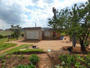 Rethabile's family home.