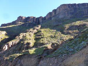 The beautiful Lesotho range.