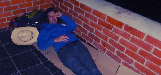 My homeless resting spot in Ghanzi.