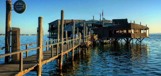 Walvis Bay pier.