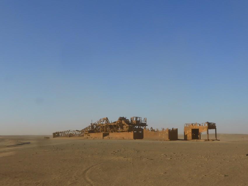 Old Oil Rig.