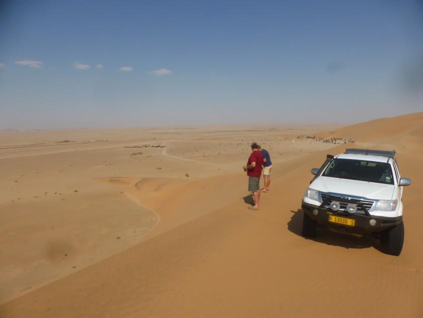 Dune edge.