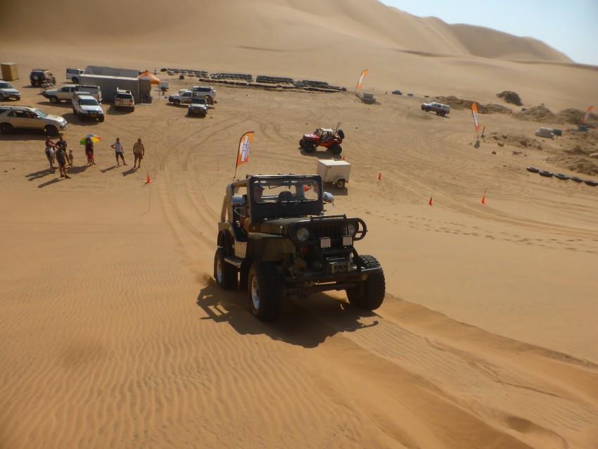 #7 - two-wheel-drive dune climb.