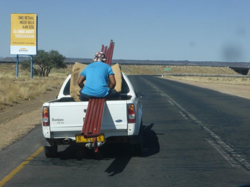 A Namibian tie-down = an ass.