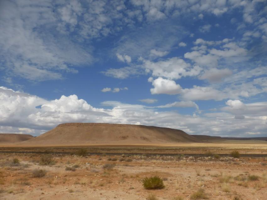 The landscape between Keetmanshoop and Lüderitz