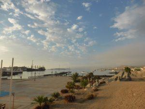 Lüderitz harbour.