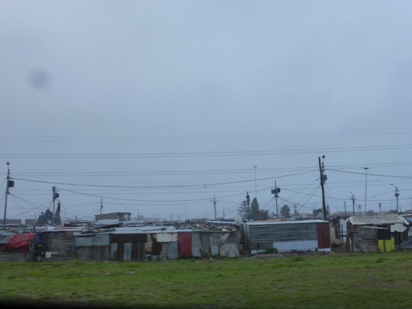 Capetown slums.