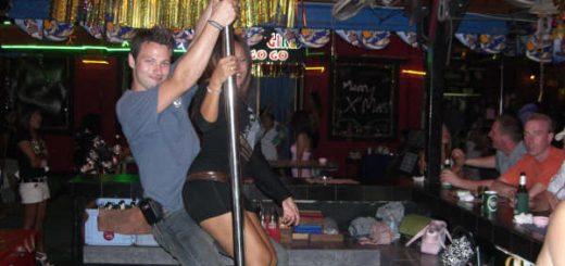 Phuket Thailand sex show.