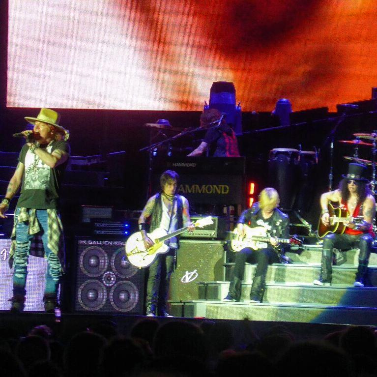 Guns 'N Roses Concert - Edmonton, Alberta.
