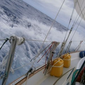 Sailing the Pacific Ocean from Guam to Japan
