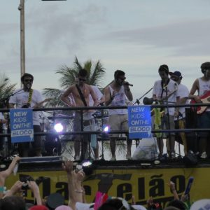 New Kids on the Bloco. Bloco party band. Rio Carnival.