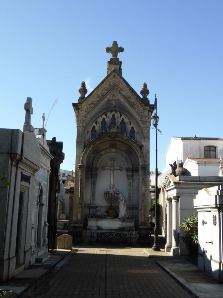 Recolete Cemetery.  Buenos Aires, Argentina.