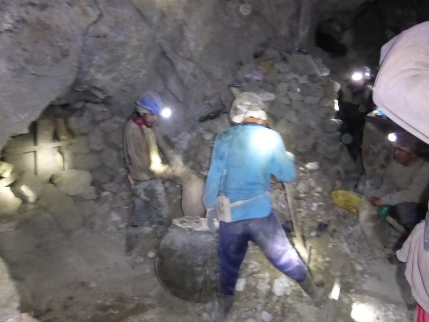 Mines.  Potosi, Bolivia.