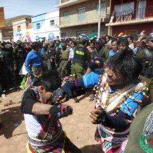 Tinku Festival in Bolivia – Part 2, The Fights