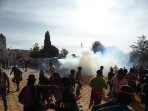 Teargas bomb.