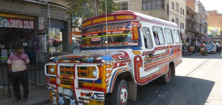 Cochabamba to La Paz: Living on Buses