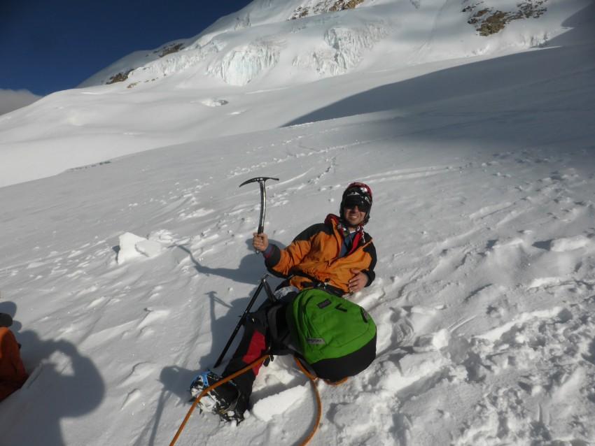 Huayna Potosi, Bolivia. – Climbing a Mountain.