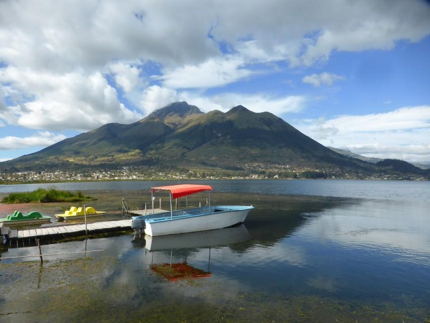 Laguna San Pablo, Otavalo, Ecuador