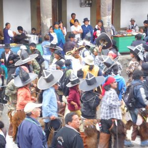 Cotacachi: Inti Raymi Party of the Sun.