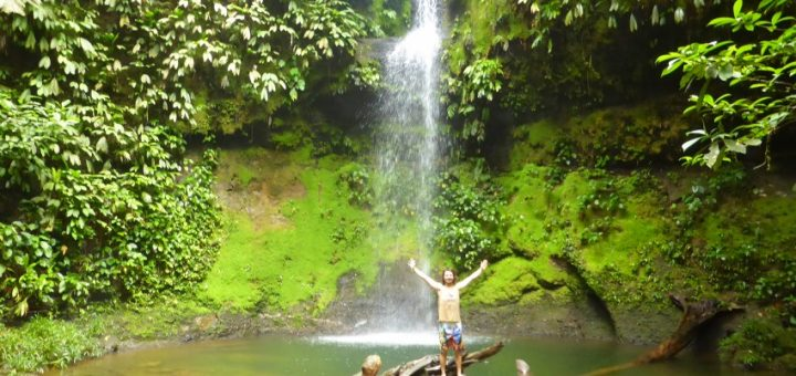 San Cipraino to Bogota: Jungle Waterfalls and the Appalling French