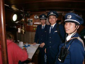 Japanese Customs interrogation questionnaire crew.