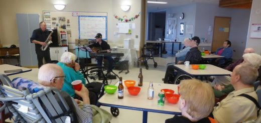 Making Music in a Senior Citizen's Home