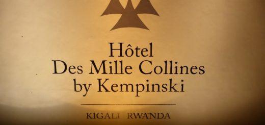 Masaka to Kigali: Hotel des Mille Collines.