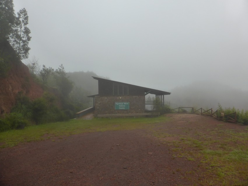 Ngwenya Iron Ore Mine museum. I am not sure when the last person before me was there...