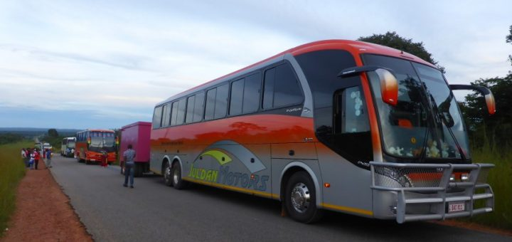 Mbeya to Lusaka: Bus Boy