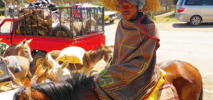 Lesotho, fully traditional.