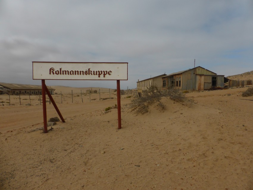 The site of the original Diaz Cross Ghost Mining Town.