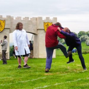 Shin Kicking World Championship in Cotswold