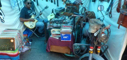 Mercado El Chopo in Mexico City Market