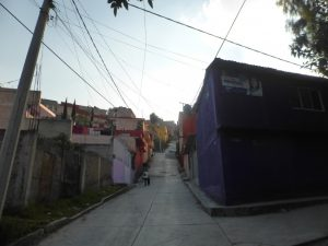 Mexicable Cable Car in Mexico City