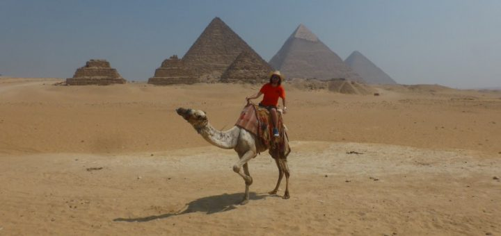 Touring the Pyramids of Egypt