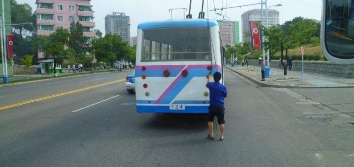 Exiting North Korea